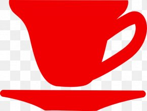 Red Teacup Cliparts - Teacup Coffee Teacup Clip Art PNG