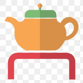 Tea - Teapot Coffee Cup Clip Art PNG