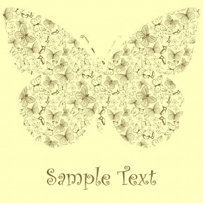 Butterfly Pattern Printing - Butterfly Clip Art PNG