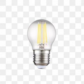 LED Gold Lamp Bulb - Lighting LED Lamp Electric Light PNG