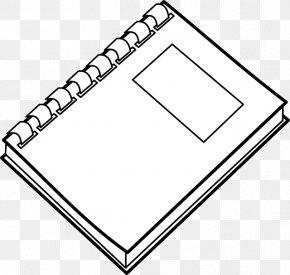 Notebook - Notebook Paper Clip Art PNG