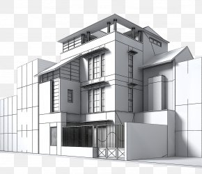 Building - 3D Computer Graphics Building Autodesk 3ds Max Architectural Engineering .3ds PNG