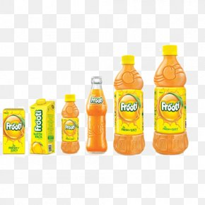 Marketing - Product Fizzy Drinks Frooti Brand Packaging And Labeling PNG
