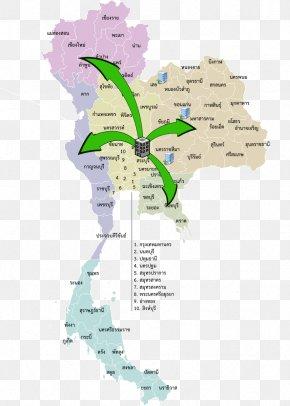 Map - Yasothon Province Eastern Thailand Pathum Thani Province Provinces Of Thailand Bangkok PNG