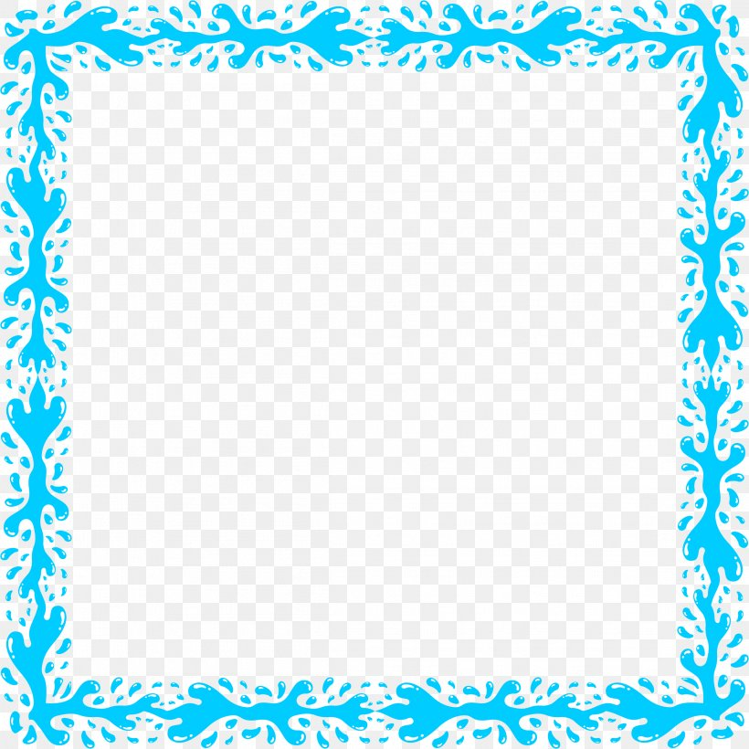 Water Clip Art, PNG, 2318x2318px, Water, Aqua, Area, Azure, Black And White Download Free