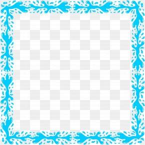 Aqua Frame - Water Clip Art PNG