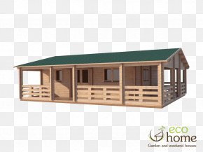 House - House Wood Log Cabin Porch Wall PNG