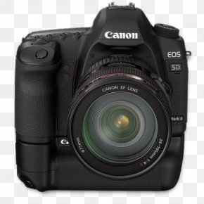 5d Front Up Bg - Digital Camera Cameras & Optics Single Lens Reflex Camera PNG