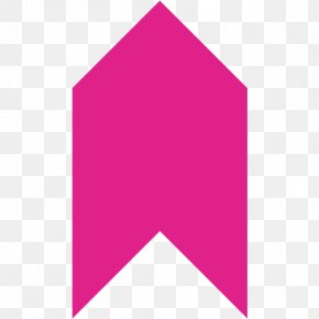 Pink Arrow Magenta - Logo Font Angle Line Product Design PNG