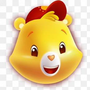 Bears - Care Bears Funshine Bear Cheer Bear PNG