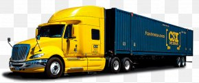Container Truck - Commercial Vehicle Car Automotive Design Public Utility Brand PNG