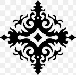 Blackandwhite Symmetry - Golden Ratio PNG