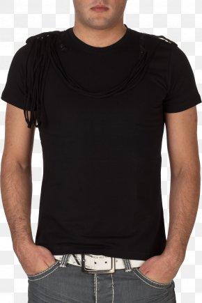 Black Polo Shirt Image - T-shirt Clothing Suit Dress Shirt PNG