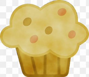 Yellow Cute Cupcakes - American Muffins Cupcake Transparency English Muffin Double-Chocolate-Muffin PNG