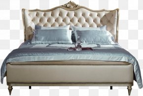Bed - Bed Frame Furniture Bedroom Box-spring PNG