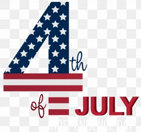 4th Of July Transparent Clip Art Image - Independence Day Clip Art PNG