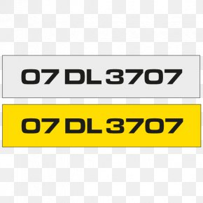 Number Plate - Vehicle License Plates Car Motor Vehicle Registration Vehicle Registration Plates Of The Republic Of Ireland PNG
