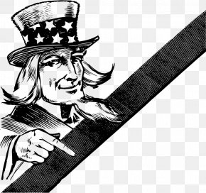Uncle - United States Uncle Sam Public Domain Clip Art PNG