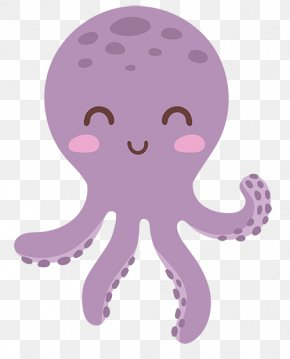 Octopus Cartoon - Octopus Vector Graphics Clip Art Illustration Image PNG