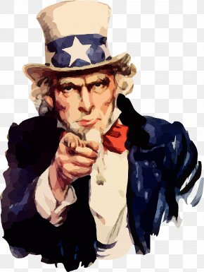 Poster - United States Uncle Sam James Montgomery Flagg Clip Art PNG