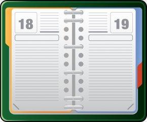 Agenda Cliparts - Book Clip Art PNG