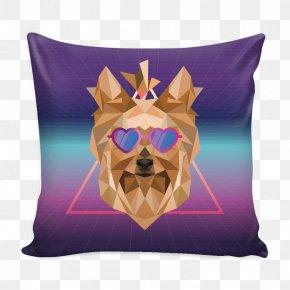Throw Pillows - Throw Pillows Dog Cushion PNG