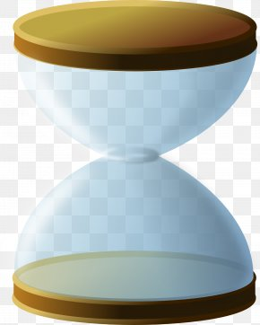 Blue Hourglass - Hourglass Transparency And Translucency Icon PNG