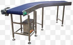 Furniture Table - Conveyor Belt Design Stainless Steel Industry PNG