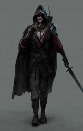 Thief - Dungeons & Dragons Pathfinder Roleplaying Game Concept Art PNG