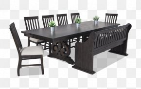 Kitchen Table - Table Bench Dining Room Matbord Furniture PNG