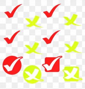 Red Cross Green Check Mark Image - Check Mark Royalty-free Euclidean Vector Clip Art PNG