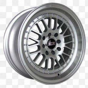 Racing Tires - Alloy Wheel STR Racing Tire Rim PNG