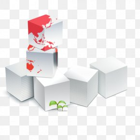 Cube - Colorful Cube Company Business Management Information PNG