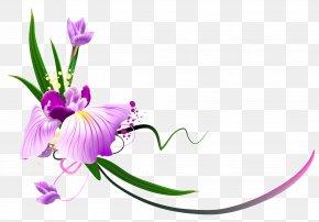 Floral - Flower Purple Floral Design Clip Art PNG