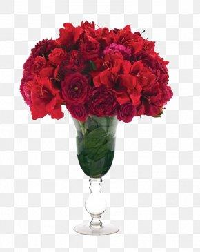 Bouquet Of Roses - Garden Roses Flower Bouquet PNG