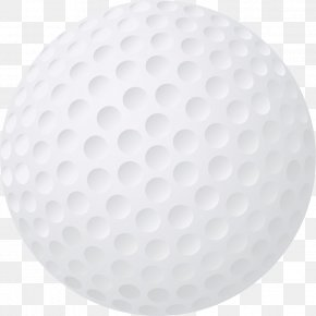 Golf Ball Transparent Image - Golf Ball Circle PNG