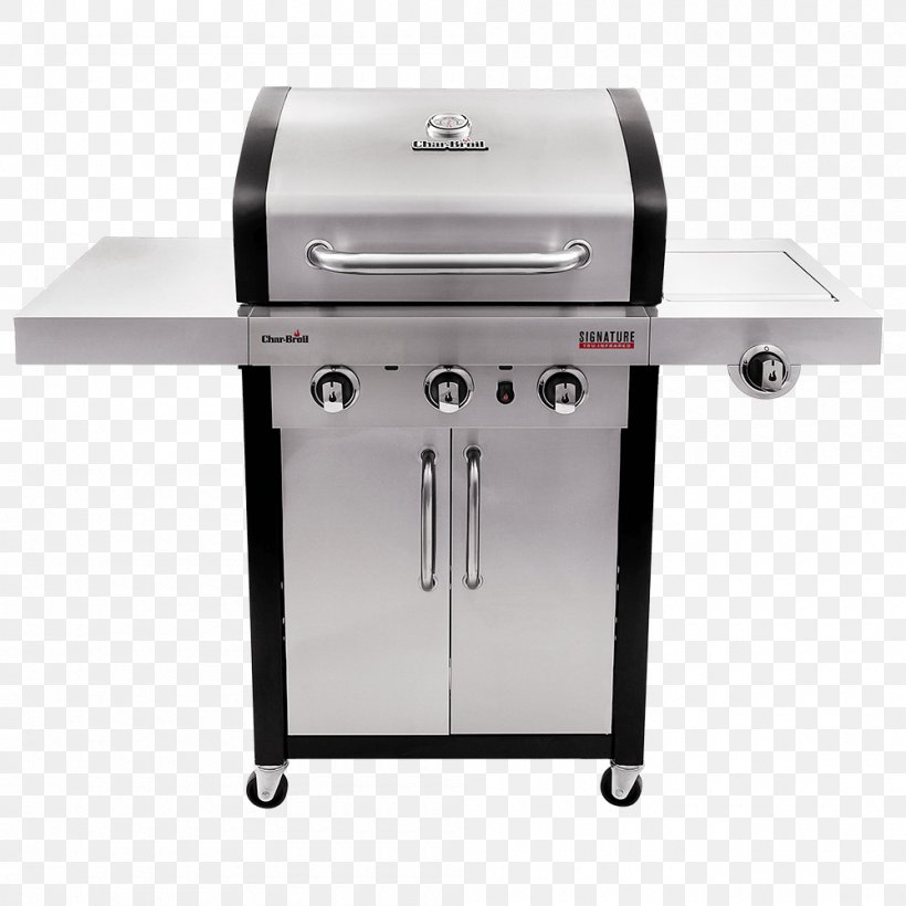 Barbecue Char-Broil Signature 4 Burner Gas Grill Grilling Char-Broil TRU-Infrared 463633316, PNG, 1000x1000px, Barbecue, Charbroil, Charbroil 3 Burner Gas Grill, Charbroil Classic 463874717, Charbroil Gas2coal Hybrid Download Free