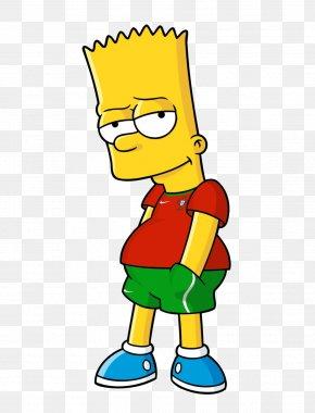 Bart Simpson - Bart Simpson Homer Simpson Edna Krabappel Marge Simpson Maggie Simpson PNG