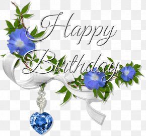Happy Birthday Font Sapphire Pendant - Happy Birthday To You Clip Art PNG