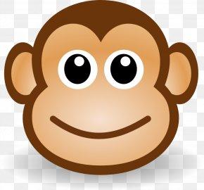 Monkey Clipart - Monkey Cartoon Clip Art PNG