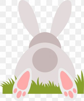 Easter Bunny - Easter Bunny Domestic Rabbit Hare Clip Art PNG