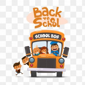 School Bus - School Bus Illustration PNG