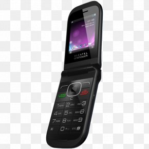 Flip Phones - Feature Phone Alcatel Mobile Telephone Clamshell Design Product Manuals PNG
