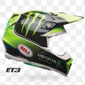 Dirt Track Racing - Motorcycle Helmets Monster Energy Motocross Bell Sports PNG