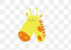 Giraffe Cartoon Vector - Northern Giraffe Cartoon Drawing PNG
