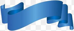 Banner Blue Deco Clip Art Image - Banner Clip Art PNG