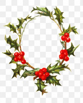 Lily Of The Valley - Borders And Frames Christmas Decoration Wreath PNG