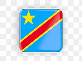 Flag Of The Democratic Republic Of The Congo - Flag Of The Democratic Republic Of The Congo Logo Brand PNG