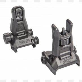 Magpul Industries Iron Sights Firearm Picatinny Rail PNG