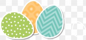 Easter Fresh Material - Easter Egg Greeting Card PNG